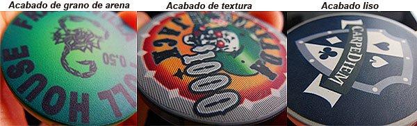 Texturas fichas de cerámica