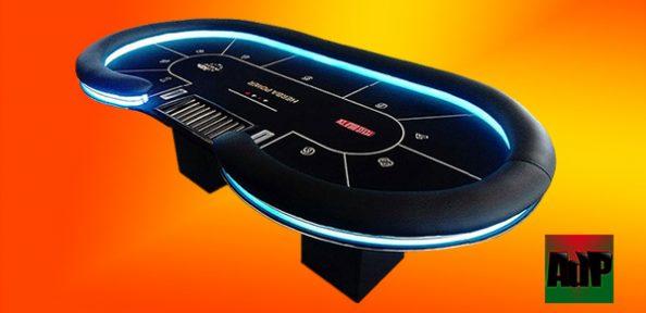 Mesa de poker EPT personalizada