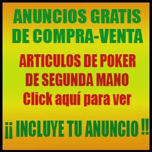 anuncios de poker segunda mano
