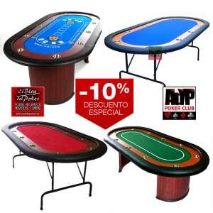 Descuentos en mesas de poker